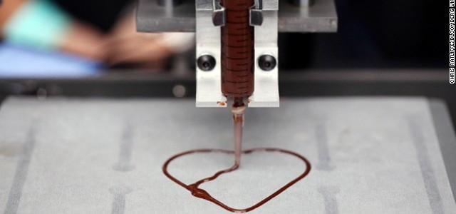 Le géant américain Hershey's veut imprimer du chocolat